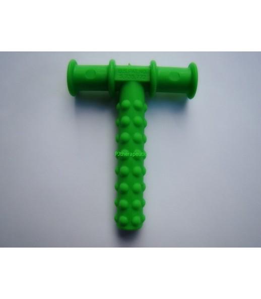 Trubička k procvičování dolní čelisti zelený