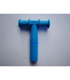 Trubička k procvičování dolní čelisti modrý
