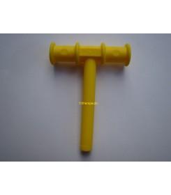 Trubička k procvičování dolní čelisti žlutý