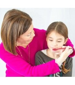 terapeutická lžíce na krmení maroon