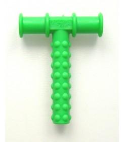 Trubička k procvičování dolní čelisti zelený strukturovaná